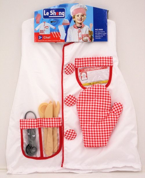 CHEF OUTFIT & HAT