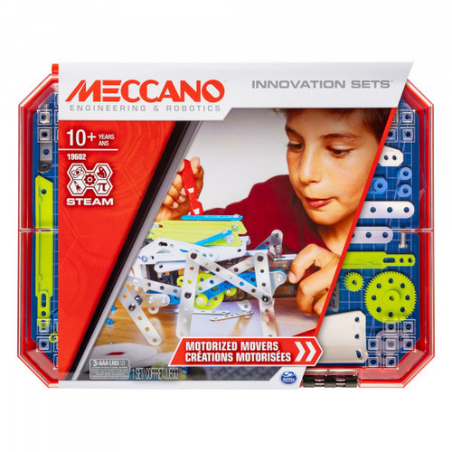Meccano set 5 - motorised movers