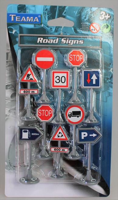 10 Piece Road Signs