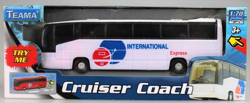 Holiday Touring Coach - White International Express