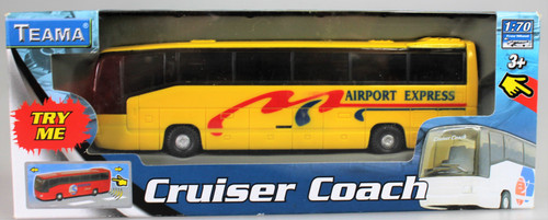 Holiday Touring Coach - Yellow Airport Express