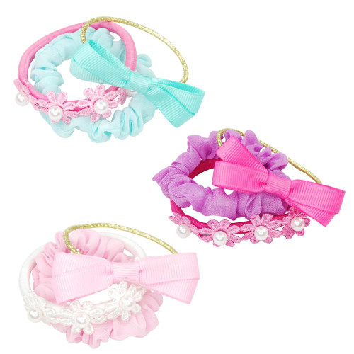 Pastel delight scrunchie elastic set