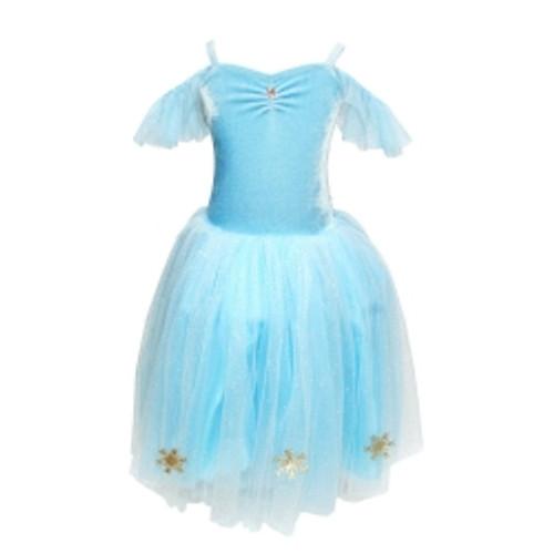 Snow princess snowflake dress size 3/4