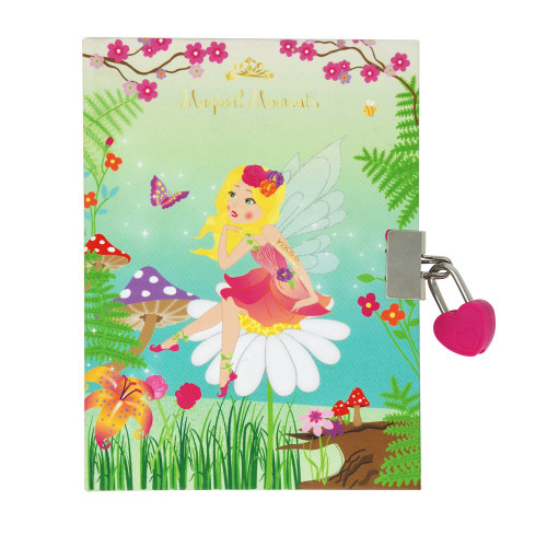 Forest fairy strawberry scented diary