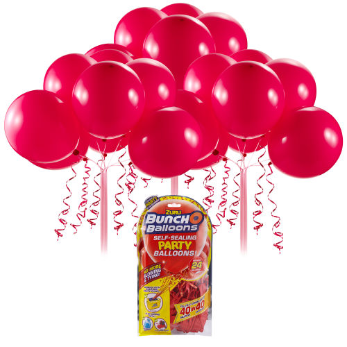 Bunch O Balloons Self Sealing Party Balloons - Red