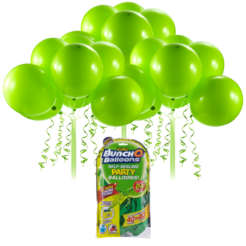 Bunch O Balloons Self Sealing Party Balloons - Green