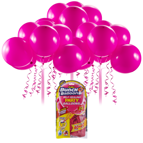Bunch O Balloons Self Sealing Party Balloons - Pink