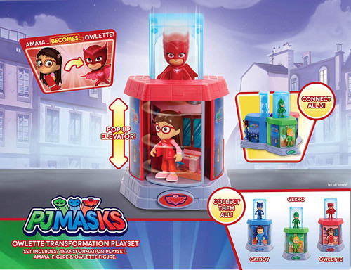 PJ MASKS OWLETTE TRANSORMATION PLAYSET