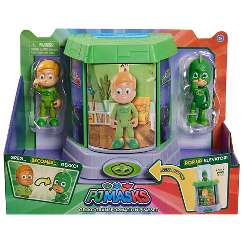 PJ MASKS GEKKO TRANSFORMATION PLAYSET