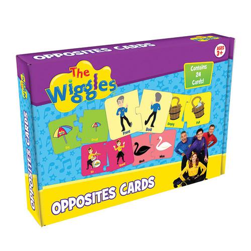 The wiggles opposites cards