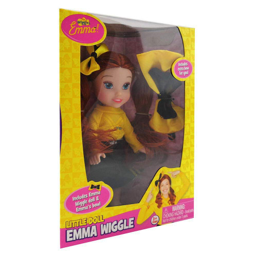 The Wiggles 15cm Emma Doll Black Skirt