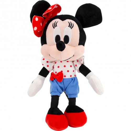 Minnie Mouse Plush With Blue Shorts Set