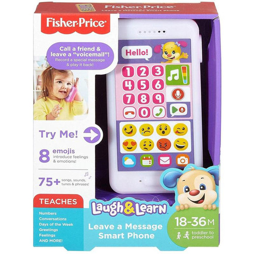 Laugh & learn leave a message smart phone - pink