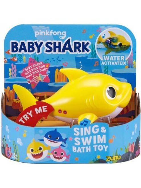 Robo Alive Junior Robotic Baby Shark - Yellow