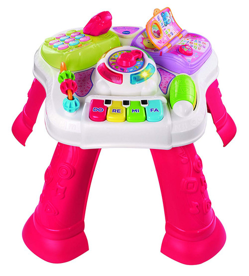 VTECH PLAY & LEARN ACTIVITY TABLE PINK
