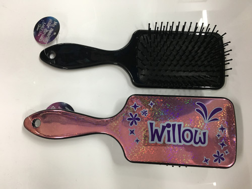 MY SPARKLY HAIR BRUSH - WILLOW