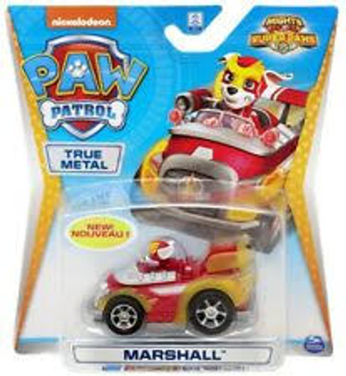 Paw Patrol Diecast Vehicles - Marshall (mighty Pups Super Pa