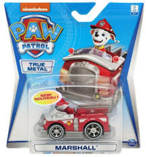 Paw Patrol Diecast Vehicles - Marshall