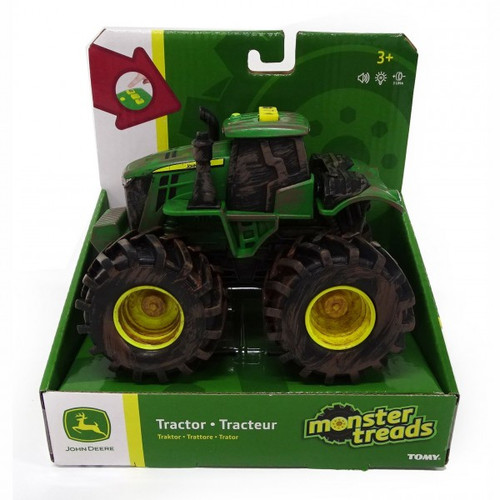 John Deere Monster Threads L&s Muddy Tractor