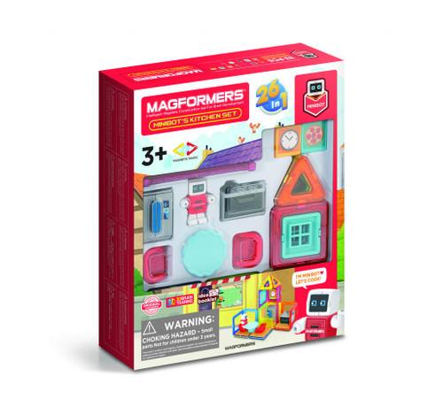 Magformers - Minibots Kitchen 33 Set
