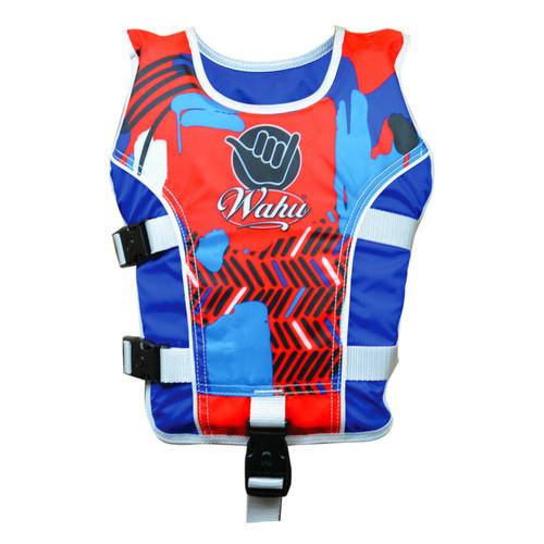 Wahu Swim Vest Child Large - 25-50kg - Blue
