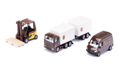 Siku - UPS Logistic Set