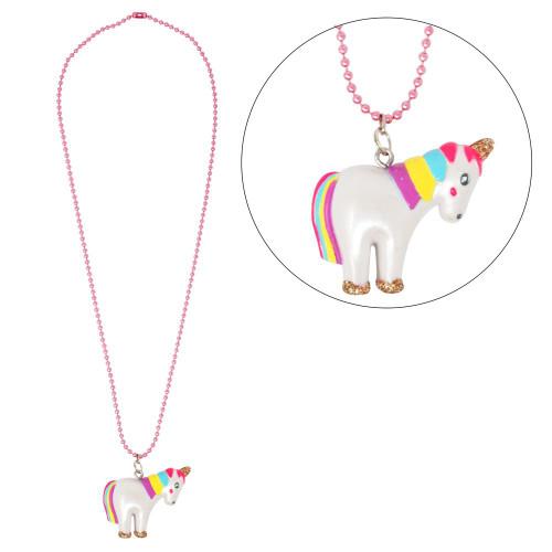 Unicorn ball chain necklace