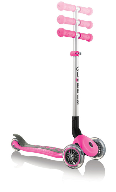Globber Primo Foldable Scooter - Deep Pink