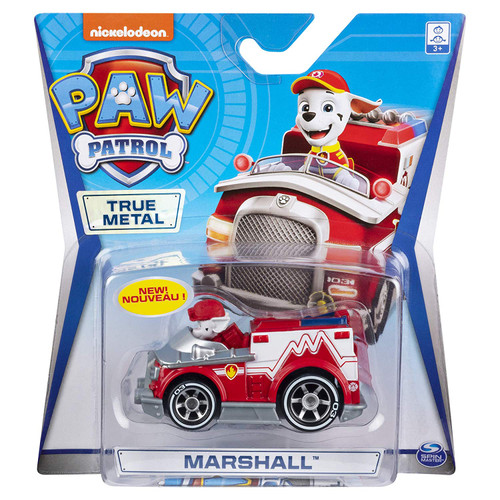Paw Patrol Diecast Vehicles - Marshall 20120840
