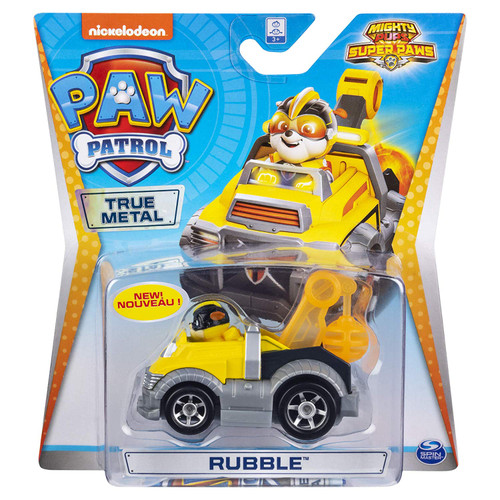 Paw Patrol Diecast Vehicles - Rubble 20120843