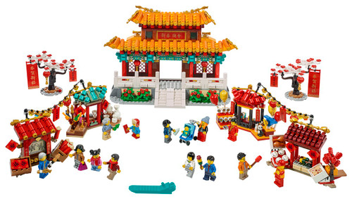 Lego Chinese Festival - Chinese New Year Temple Fair