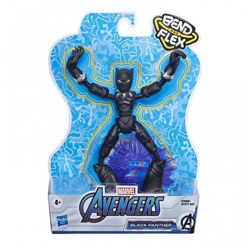 Avengers bendy figure - black panther