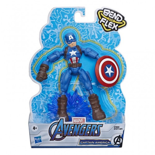 Avengers bendy figure - captain america