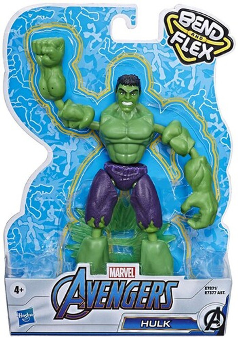 Avengers bendy figure - hulk