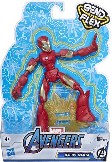 Avengers bendy figure - iron man