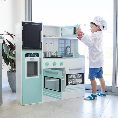 Bon appetit kitchen - aqua