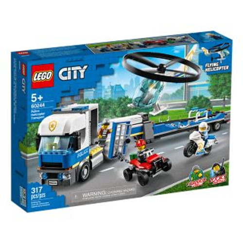 LEGO CITY - POLICE HELICOPTER TRANSPORT
