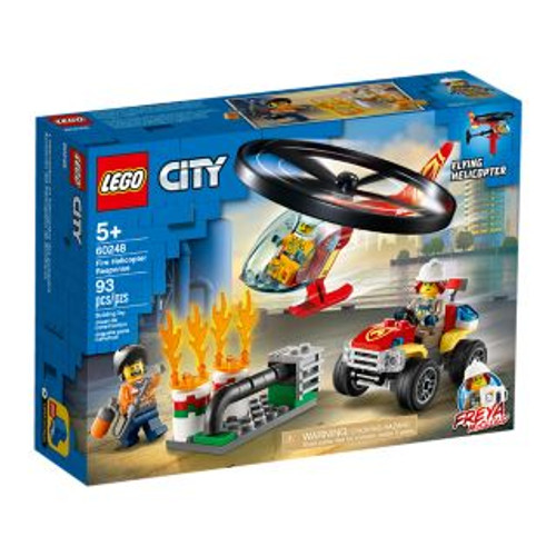 LEGO CITY - FIRE HELICOPTER RESPONSE