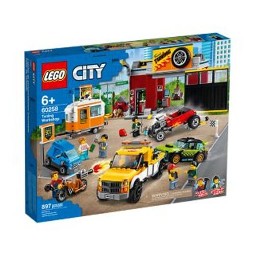 LEGO CITY - TUNING WORKSHOP
