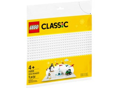 Lego Classic - White Base Plate