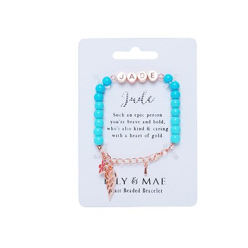 Beaded Bracelet -jade