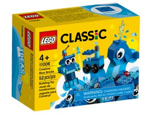 LEGO CLASSIC - CREATIVE BLUE BRICKS
