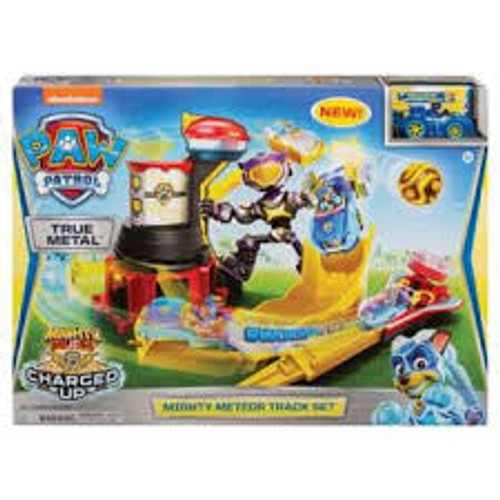 PAW PATROL TRUE METAL MIGHTY PUPS MIGHTY METEOR TRACK SET