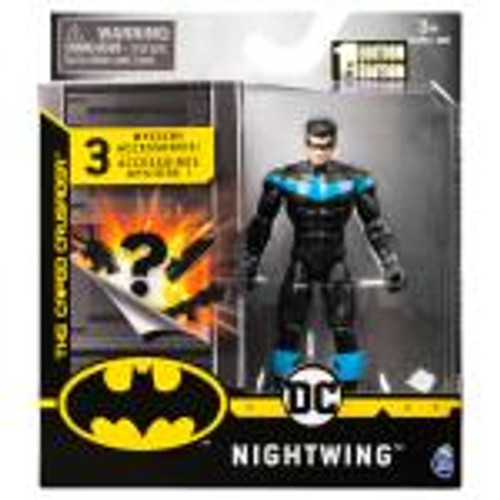Batman 4 Inch Basic Figure With Accessories - Nightwing