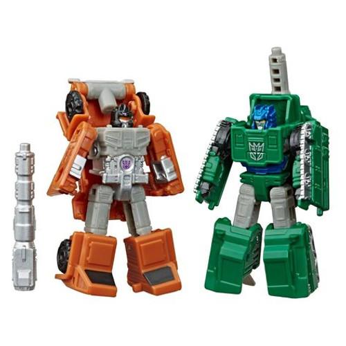 Transformer gen earthrise wfc - bombshock & decepticon growl