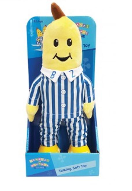 Bananas In Pyjamas - B2 Classic Talking Soft Toy (30cm)