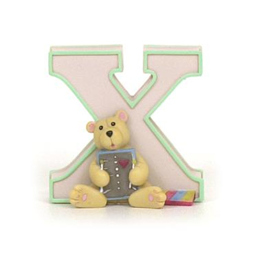 CHILD TO CHERISH LETTER - X