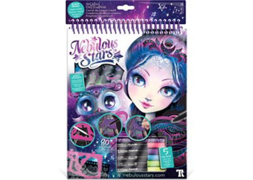 Nebulous stars - eclipsia creative sketchbook - black