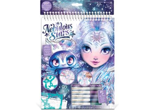 Nebulous stars - iceana creative sketchbook