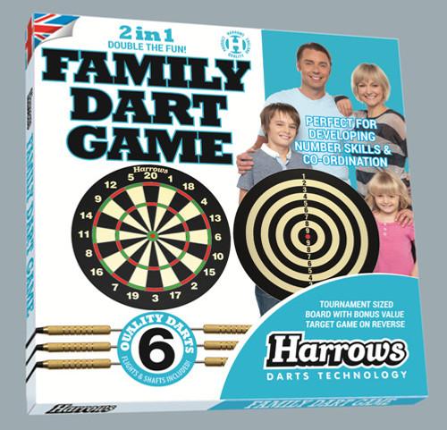 2 in 1 family dart game